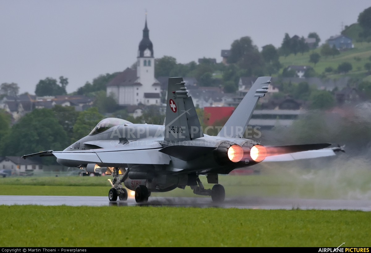 Switzerland - Air Force J-5010 aircraft at Buochs