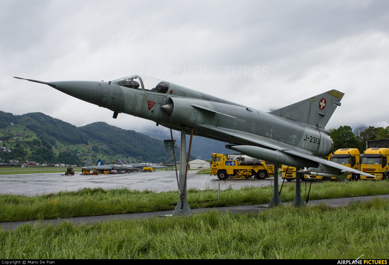 Switzerland - Air Force J-2313 aircraft at Buochs