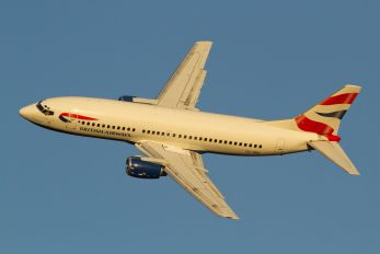 ZS-OKH - British Airways - Comair Boeing 737-300