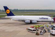 D-AIMK - Lufthansa Airbus A380 aircraft