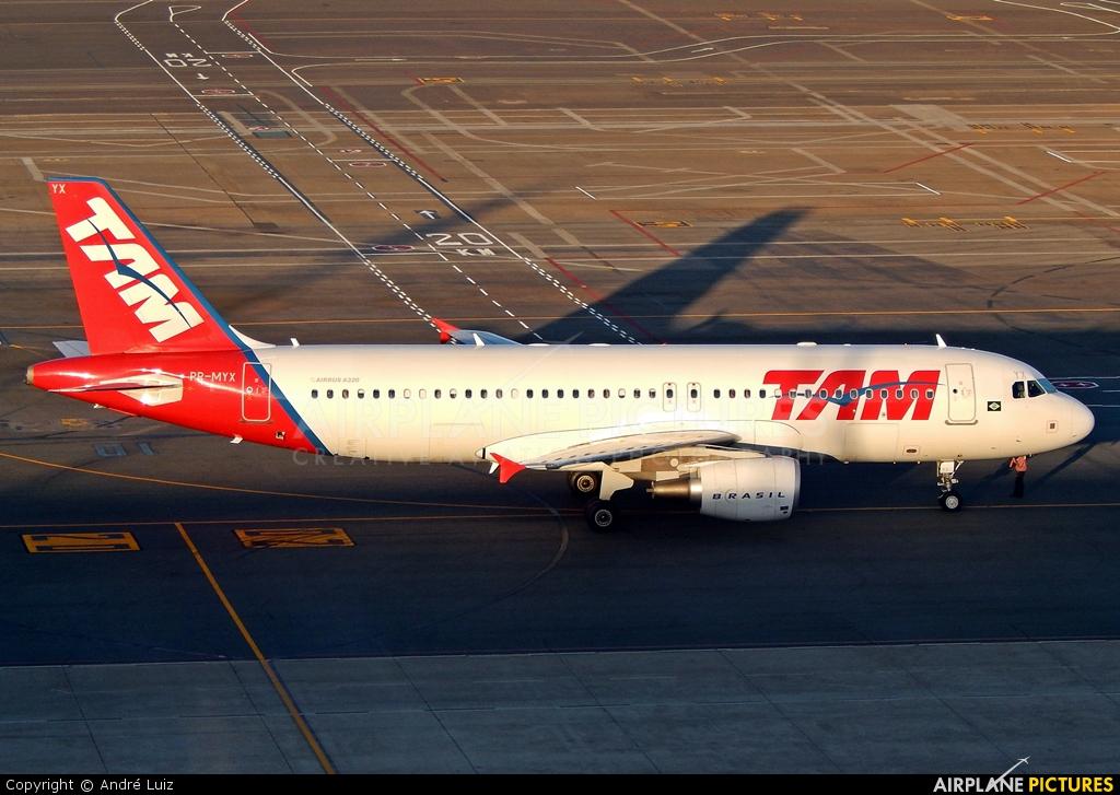 TAM PR-MYX aircraft at Brasília - Presidente Juscelino Kubitschek Intl