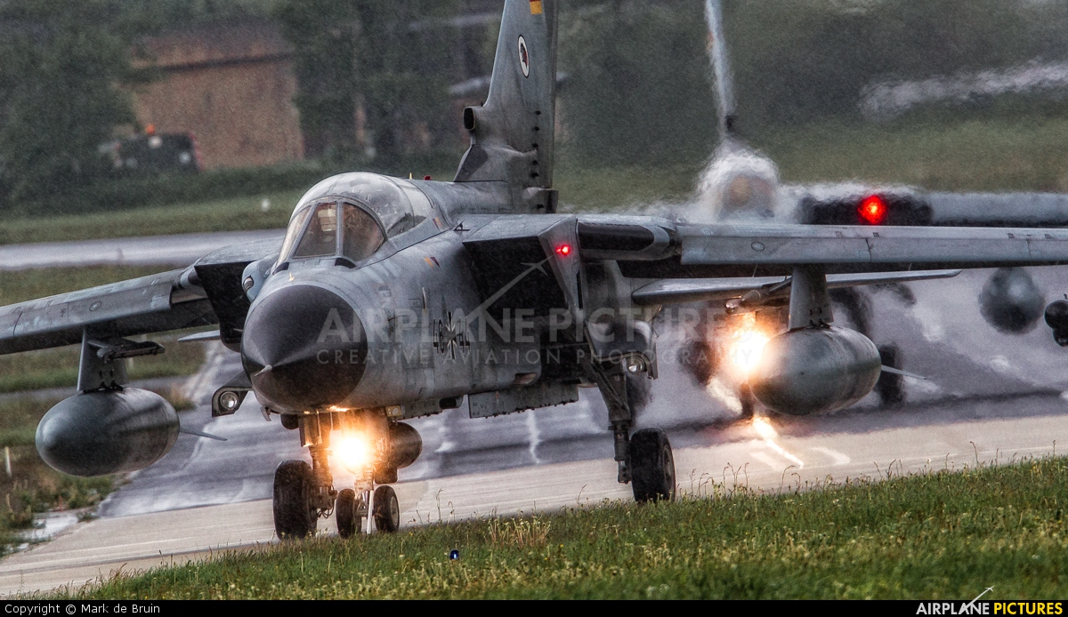 Germany - Air Force 46+44 aircraft at Schleswig-Jagel