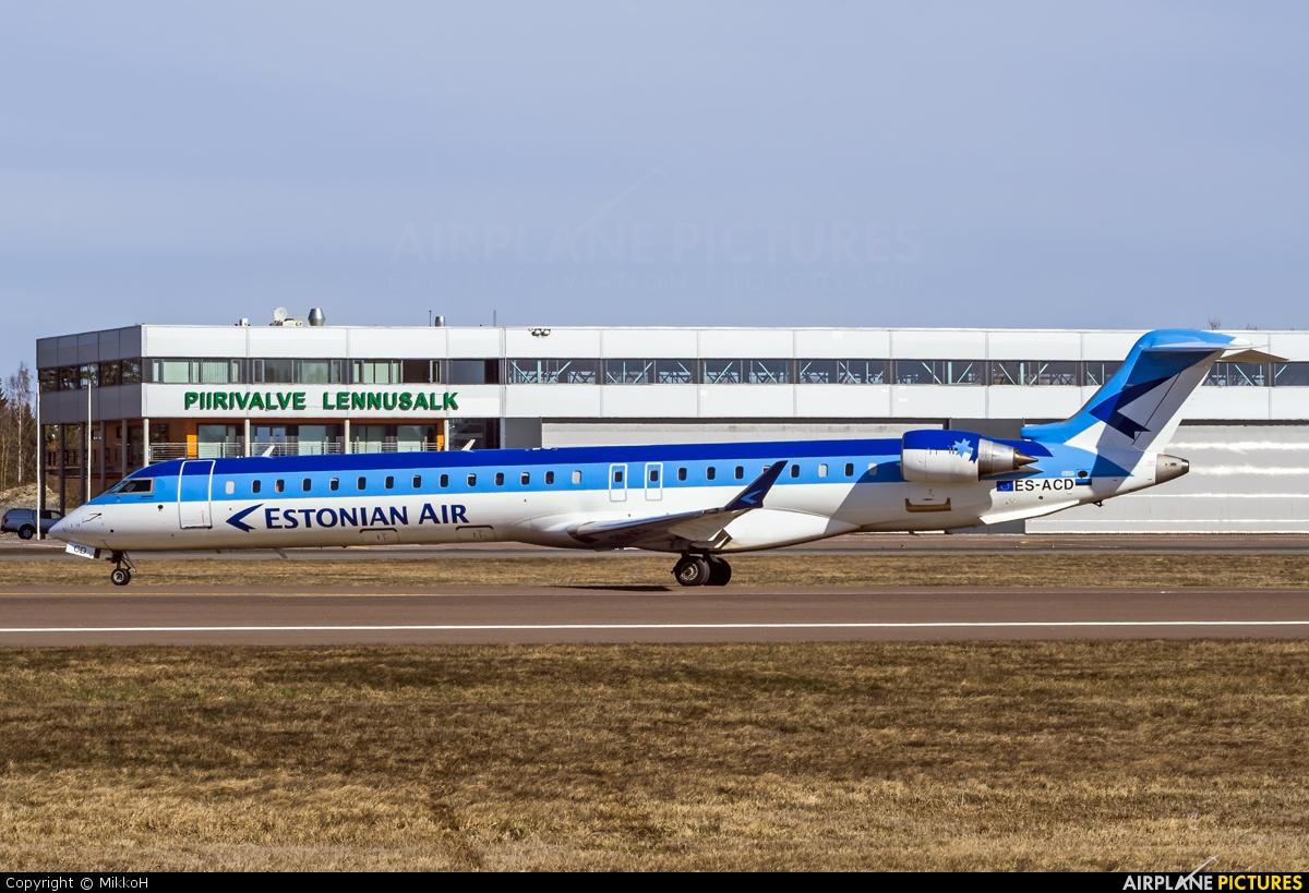 Estonian Air ES-ACD aircraft at Tallinn