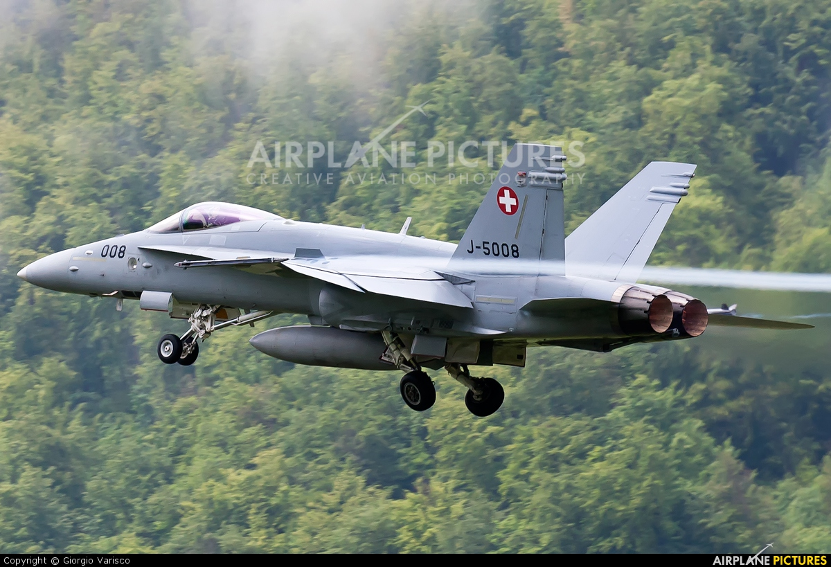 Switzerland - Air Force J-5008 aircraft at Buochs
