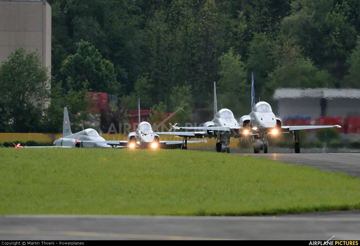 Switzerland - Air Force J-3092 aircraft at Buochs