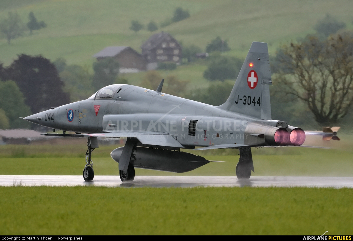 Switzerland - Air Force J-3044 aircraft at Buochs