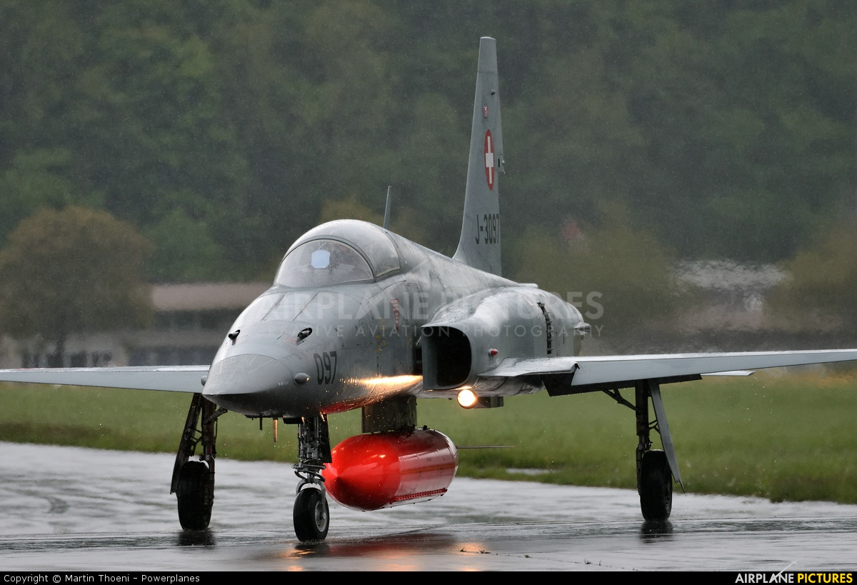 Switzerland - Air Force J-3097 aircraft at Buochs