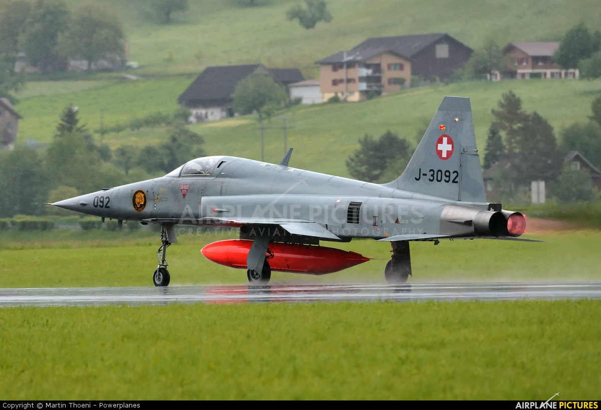 Switzerland - Air Force J-3092 aircraft at Buochs