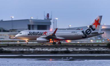 JA08JJ - Jetstar Japan Airbus A320