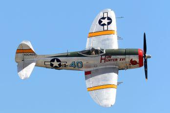 NX9246B - Private Republic P-47D Thunderbolt