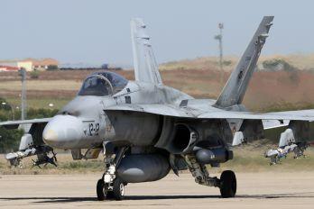 - - Spain - Air Force McDonnell Douglas F/A-18A Hornet