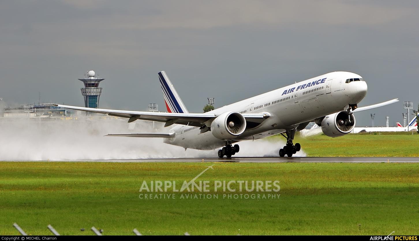 Air France F-GSQT aircraft at Paris - Orly