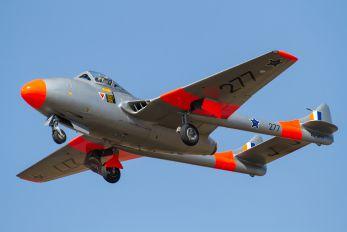 ZU-DFH - South Africa - Air Force Museum de Havilland DH.115 Vampire T.55