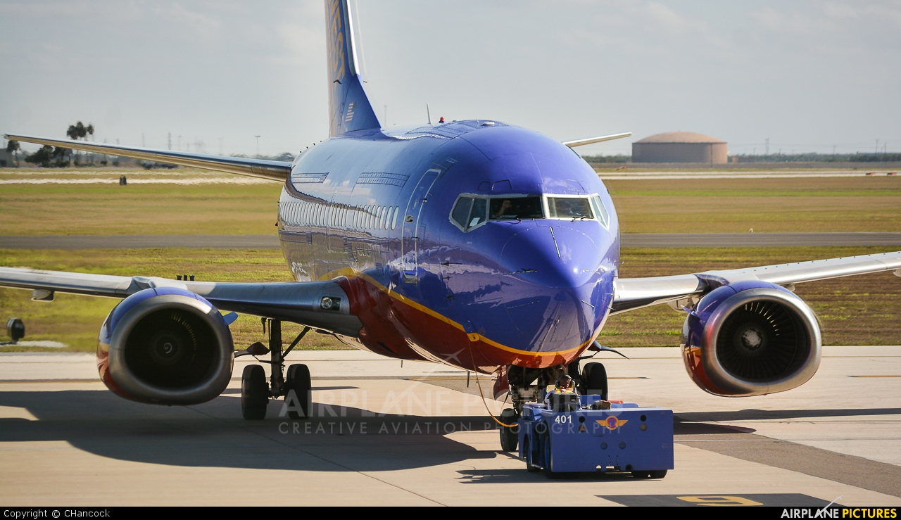 Southwest Airlines N510SW aircraft at Valley Intl