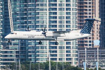C-GLQE - Porter Airlines de Havilland Canada DHC-8-400Q / Bombardier Q400