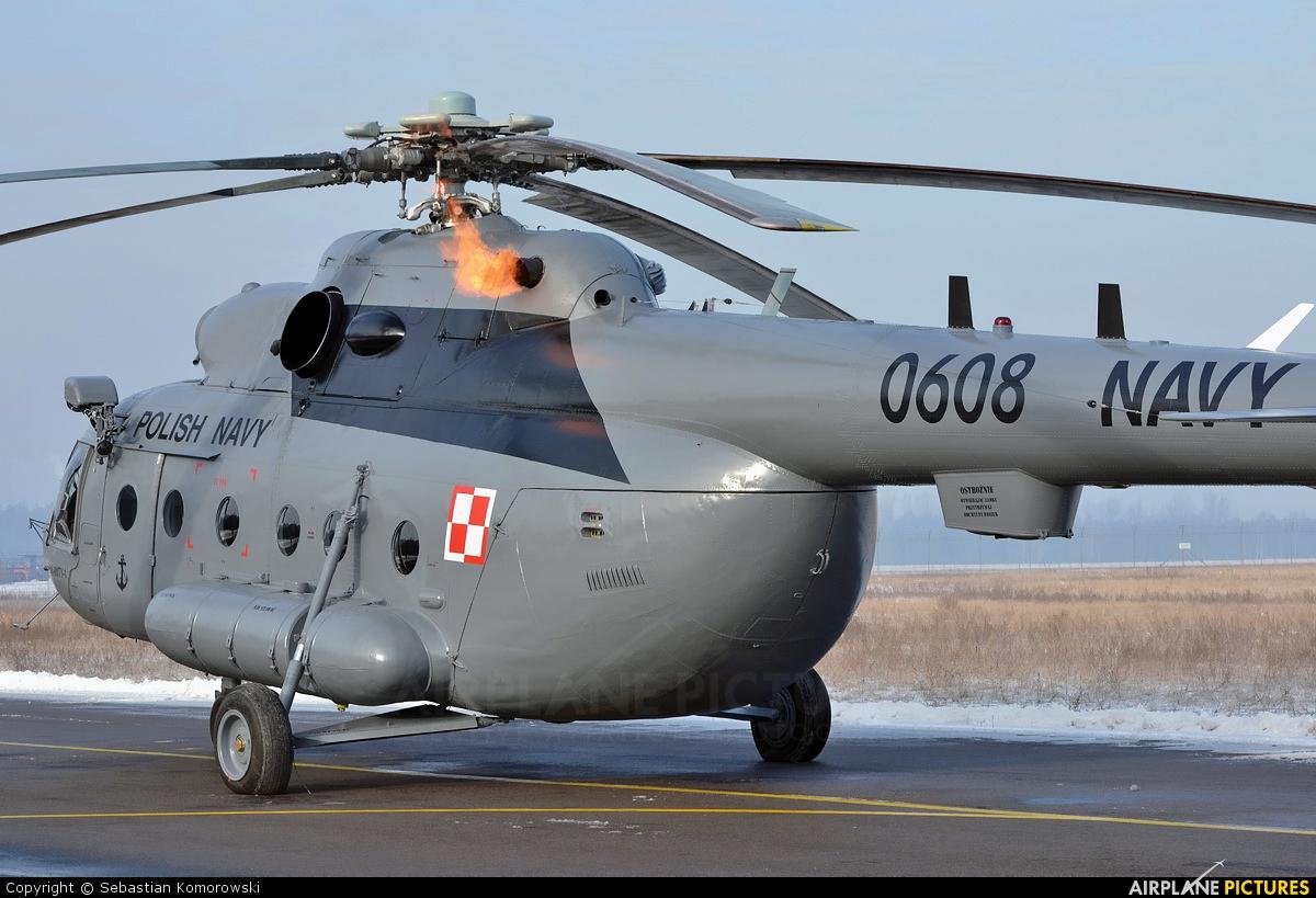 Poland - Navy 0608 aircraft at Łódź - Lublinek