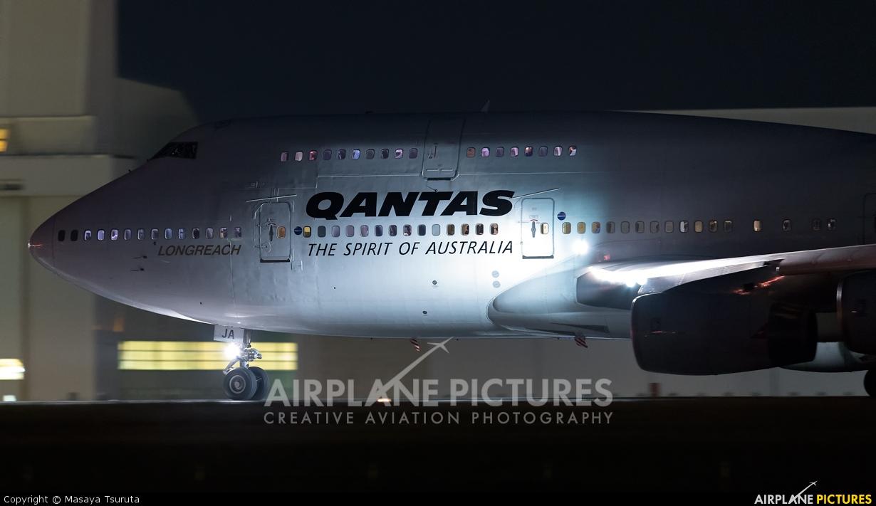 QANTAS VH-OJA aircraft at Tokyo - Narita Intl