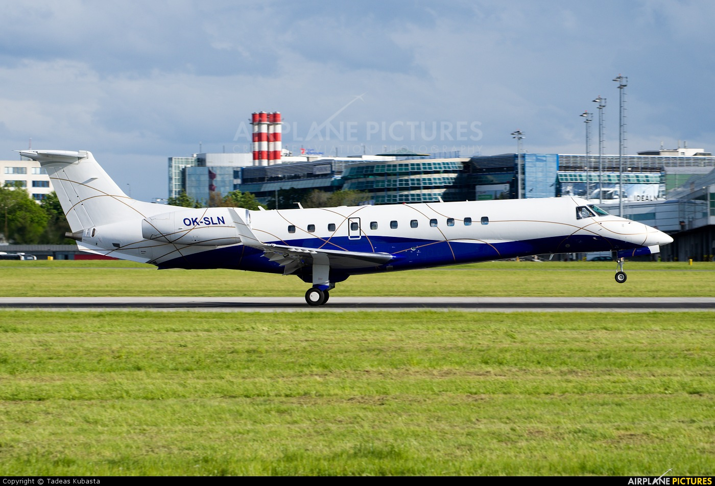 ABS Jets OK-SLN aircraft at Prague - Václav Havel