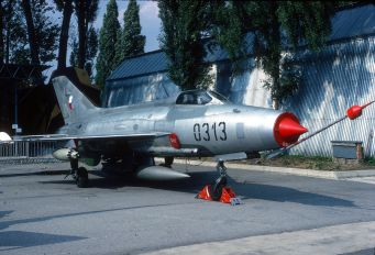 0313 - Czech - Air Force Mikoyan-Gurevich MiG-21F-13