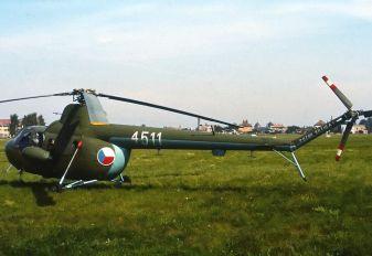 4511 - Czechoslovak - Air Force Mil Mi-1/PZL SM-1