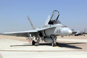 C.15-72 / 12-30 - Spain - Air Force McDonnell Douglas F/A-18A Hornet