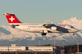 HB-IXU - Swiss British Aerospace BAe 146-300/Avro RJ100