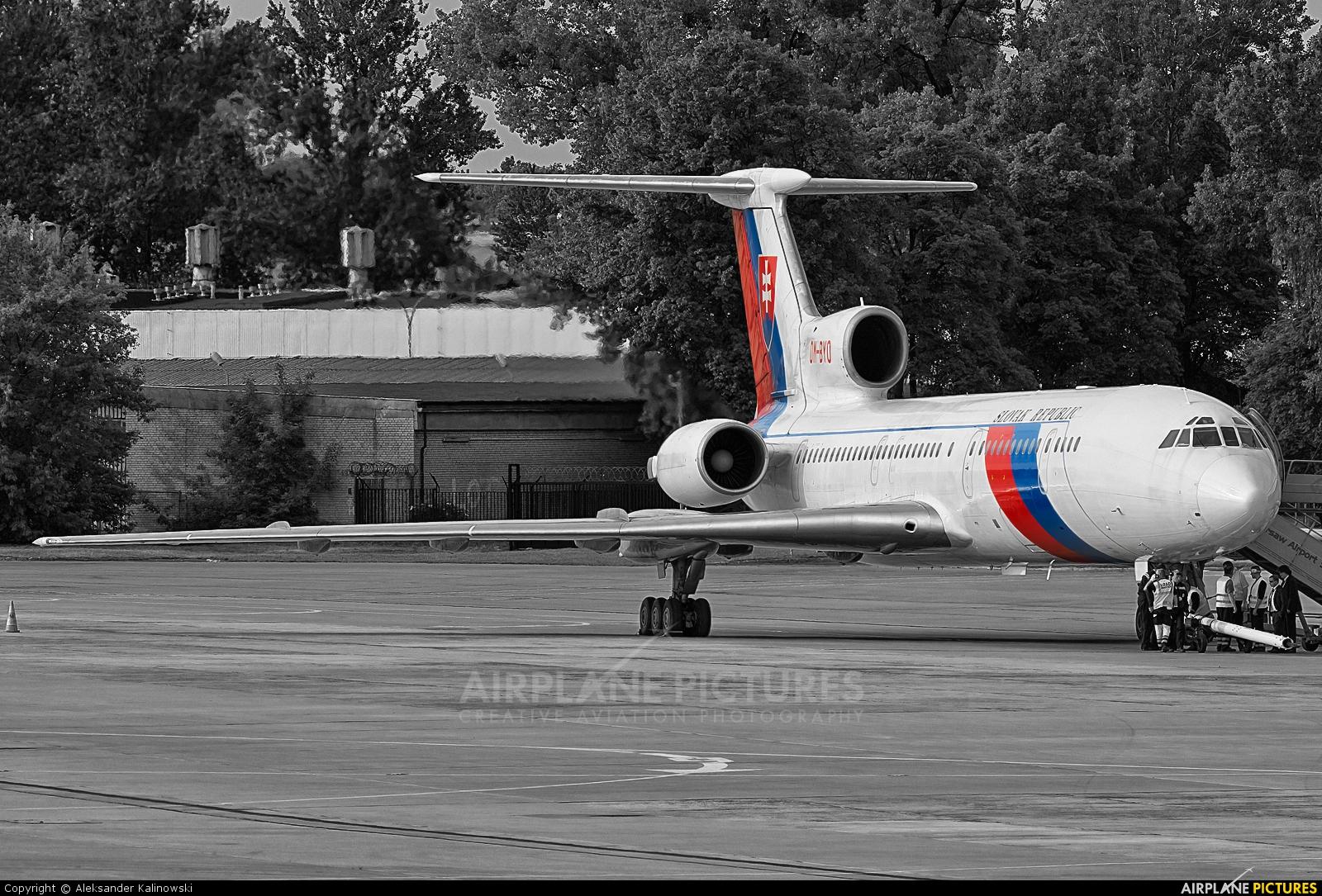 Slovakia - Government OM-BYO aircraft at Warsaw - Frederic Chopin