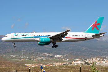 G-OOOX - First Choice Airways Boeing 757-200