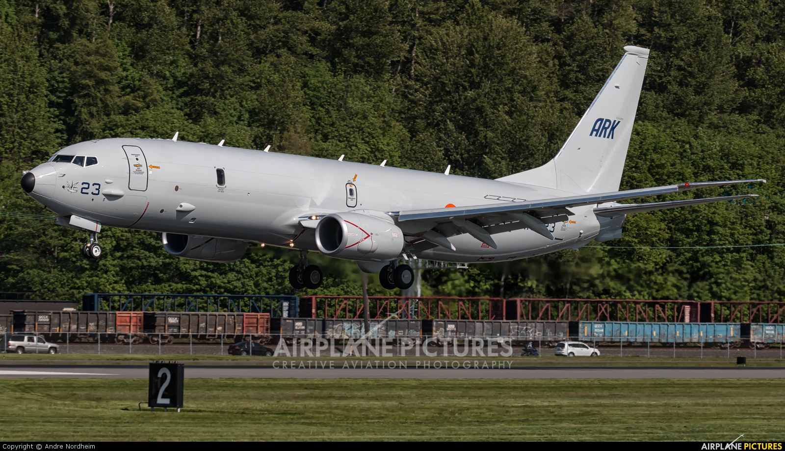 India - Navy N718DS aircraft at Seattle - Boeing Field / King County Intl