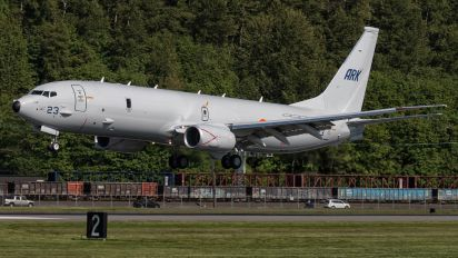 N718DS - India - Navy Boeing P-8I Neptune