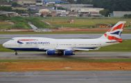 G-CIVF - British Airways Boeing 747-400 aircraft