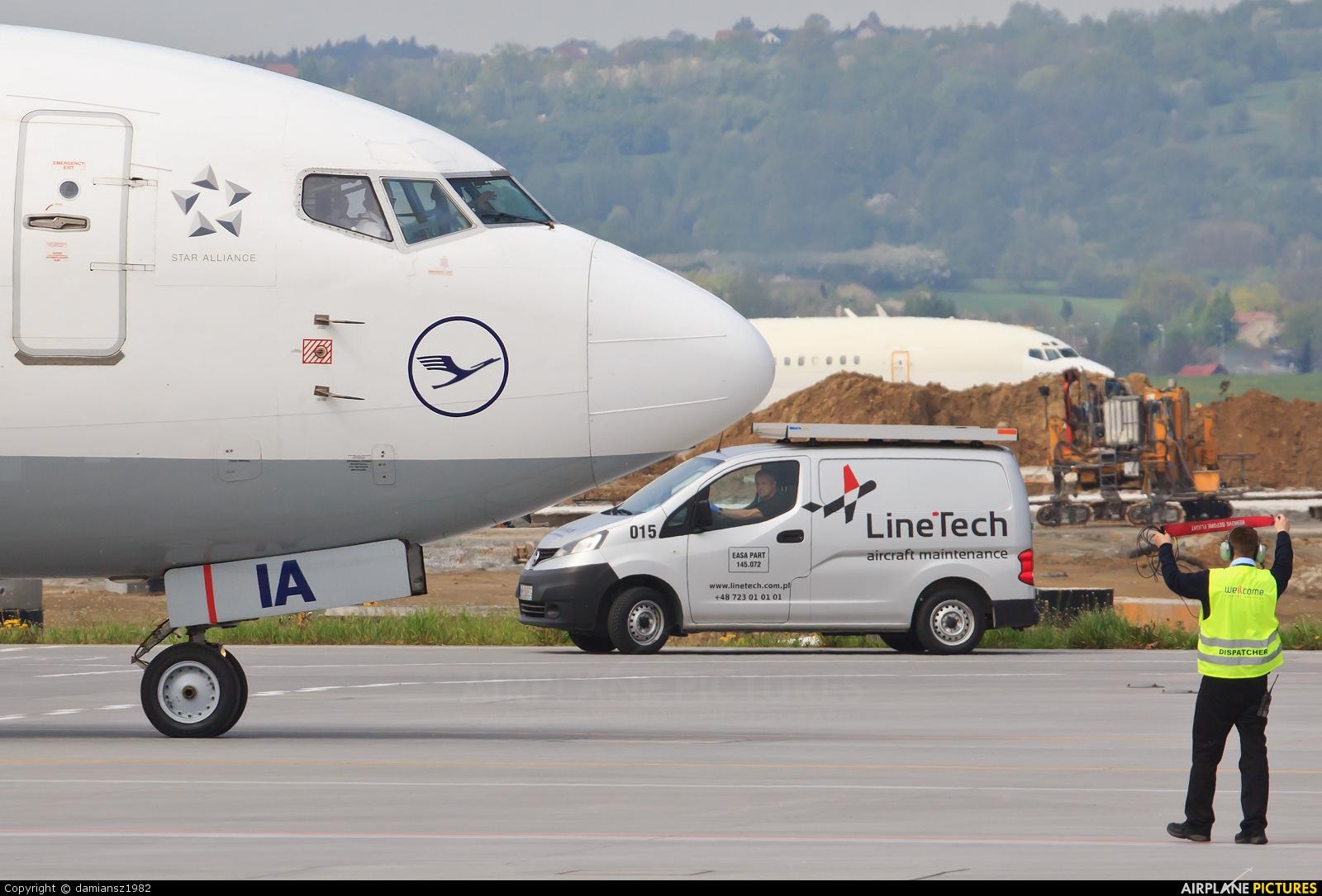 Lufthansa D-ABIA aircraft at Kraków - John Paul II Intl