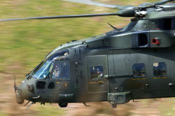 ZJ128 - Royal Air Force Agusta Westland AW101 411 Merlin HC.3