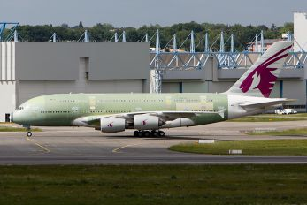 F-WWSG - Qatar Airways Airbus A380