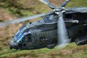 ZJ128 - Royal Air Force Agusta Westland AW101 411 Merlin HC.3 aircraft