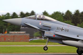 31+08 - Germany - Air Force Eurofighter Typhoon S