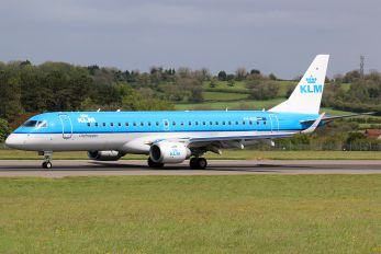 PX-EXC - KLM Cityhopper Embraer ERJ-190 (190-100)