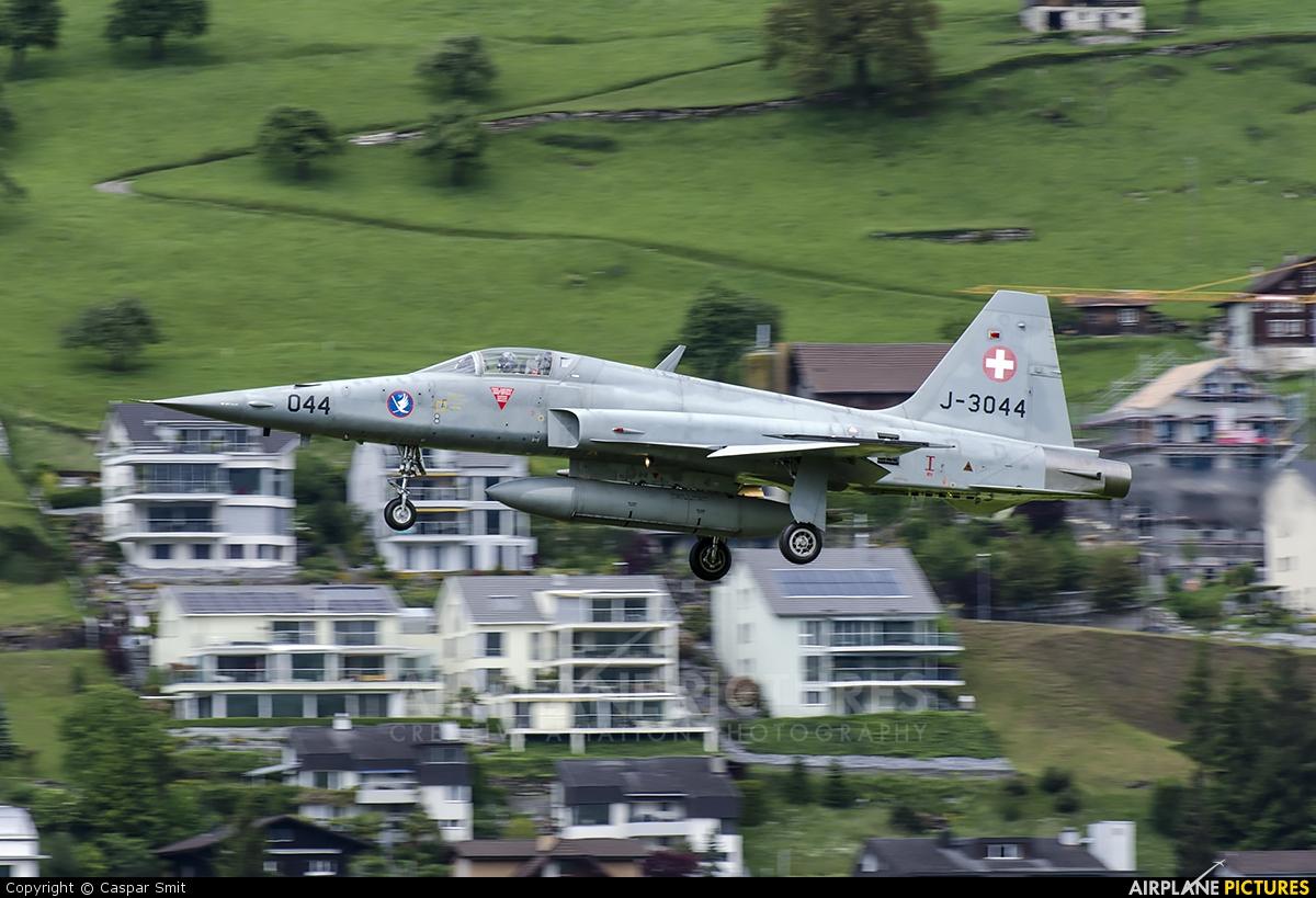 Switzerland - Air Force J-3044 aircraft at Buochs