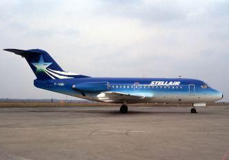 F-GIAI - Stellair Fokker F28