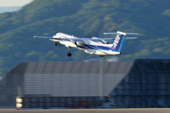 JA855A - ANA Wings de Havilland Canada DHC-8-400Q / Bombardier Q400