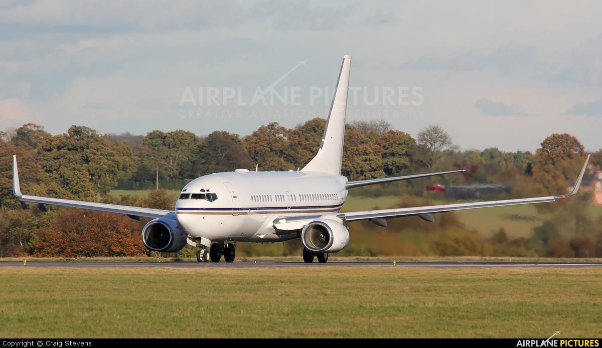 Royal Jet A6-RJX aircraft at London - Luton