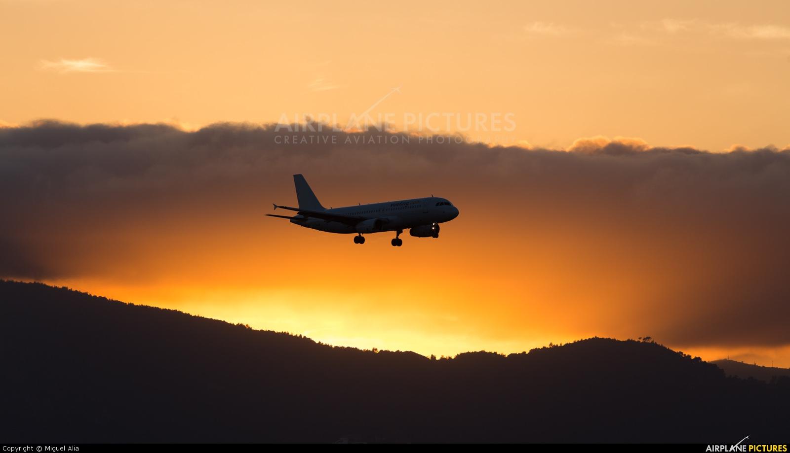 Vueling Airlines - aircraft at Barcelona - El Prat