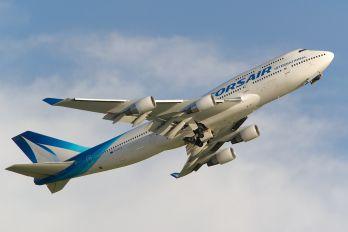 F-HSEA - Corsair / Corsair Intl Boeing 747-400