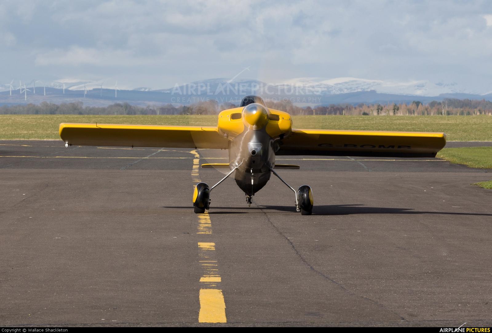 Private G-BOMB aircraft at Perth - Scone