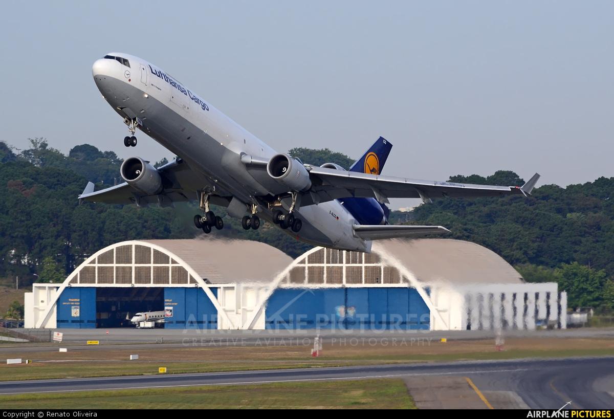 Lufthansa Cargo D-ALCG aircraft at São Paulo - Guarulhos