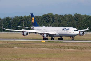 D-AIGP - Lufthansa Airbus A340-300