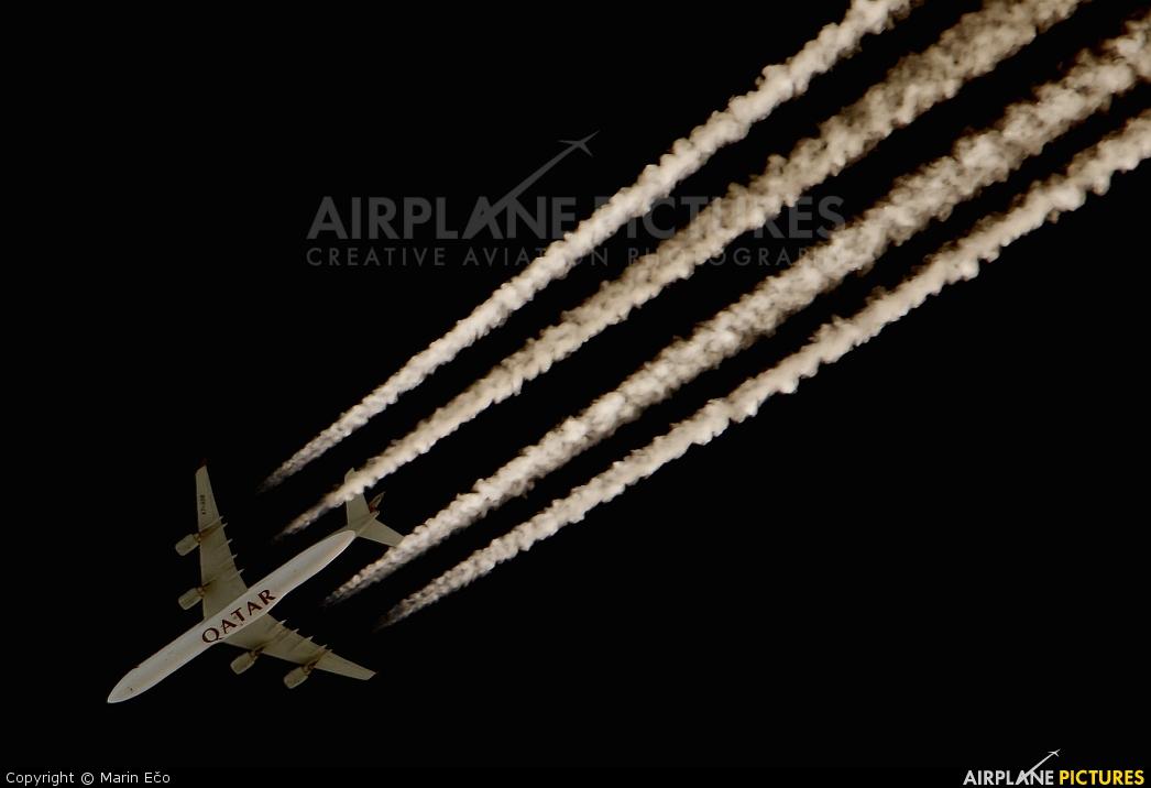 Qatar Airways A7-AGB aircraft at Off Airport - Slovenia