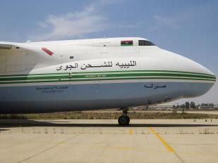 5A-DKN - Libyan Air Cargo Antonov An-124