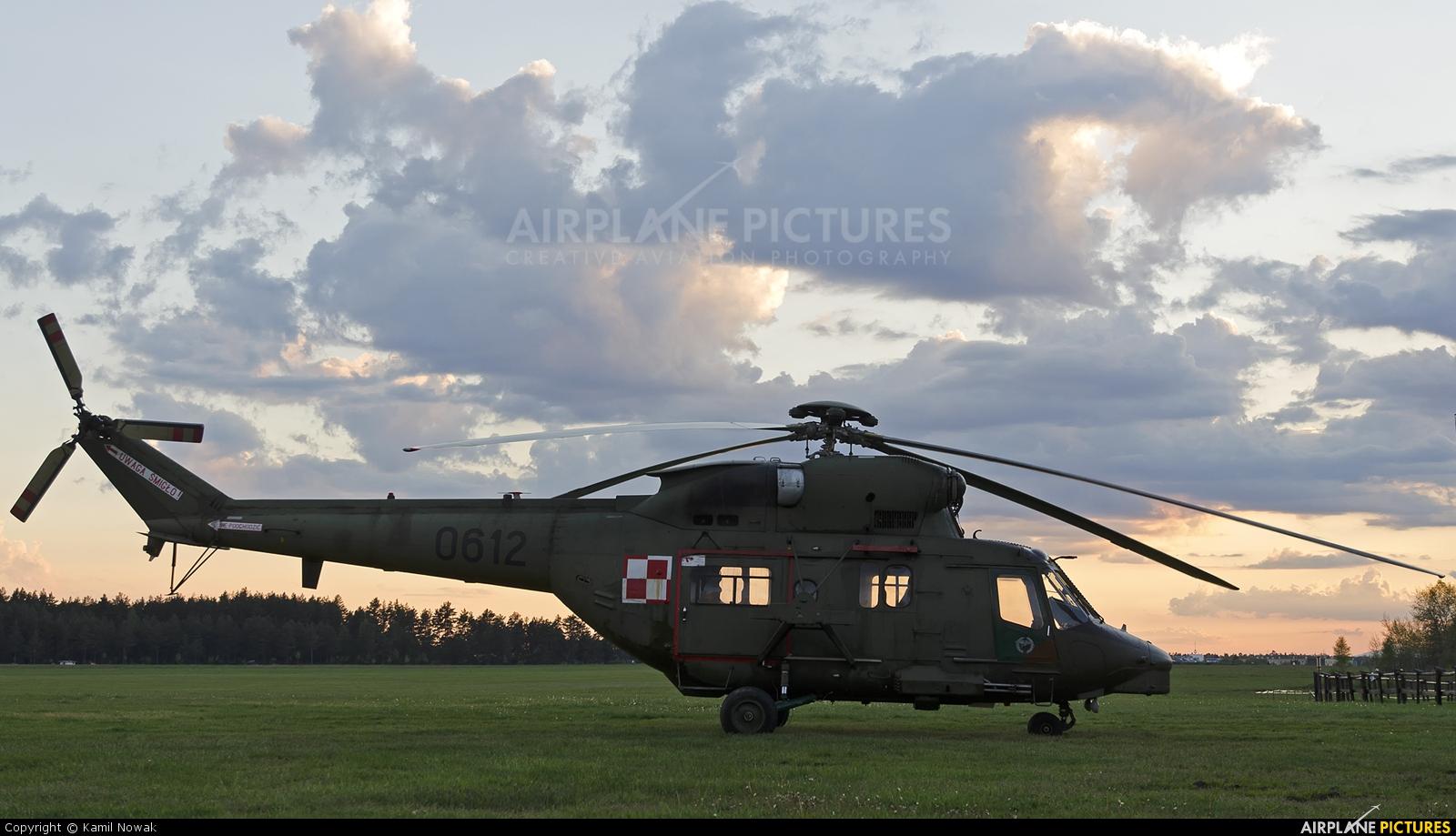 Poland - Army 0612 aircraft at Nowy Targ