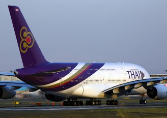 HS-TUD - Thai Airways Airbus A380